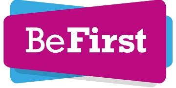 Be First logo